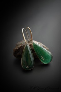 aventurine-earrings