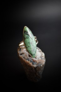 chrysoprase-ring