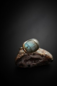labradorite-ring