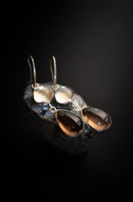 smoky-quartz-earring